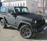 Jeep Wrangler Rubicon-текстурный мат